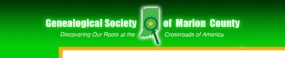 Genealogical Society of Marion County